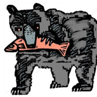 L' Orso e i Salmoni